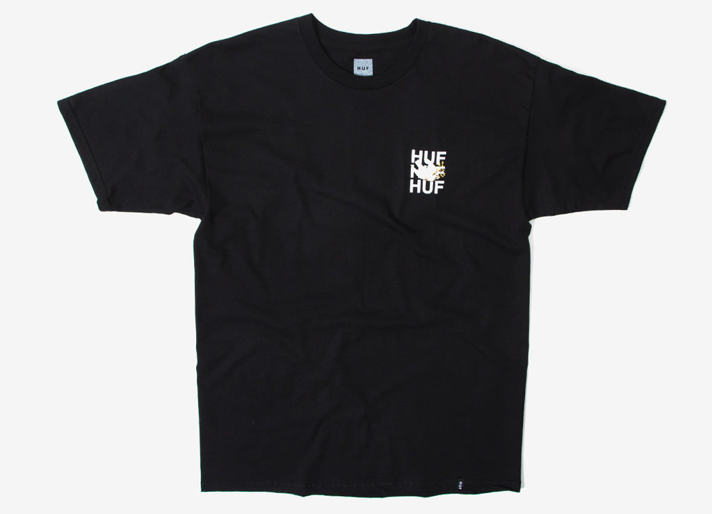 HUF Disaster Dove T Shirt - Black