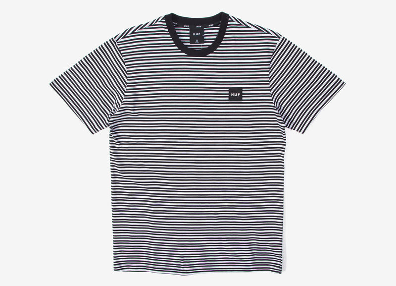 HUF Dazed SS Knit T Shirt - Black