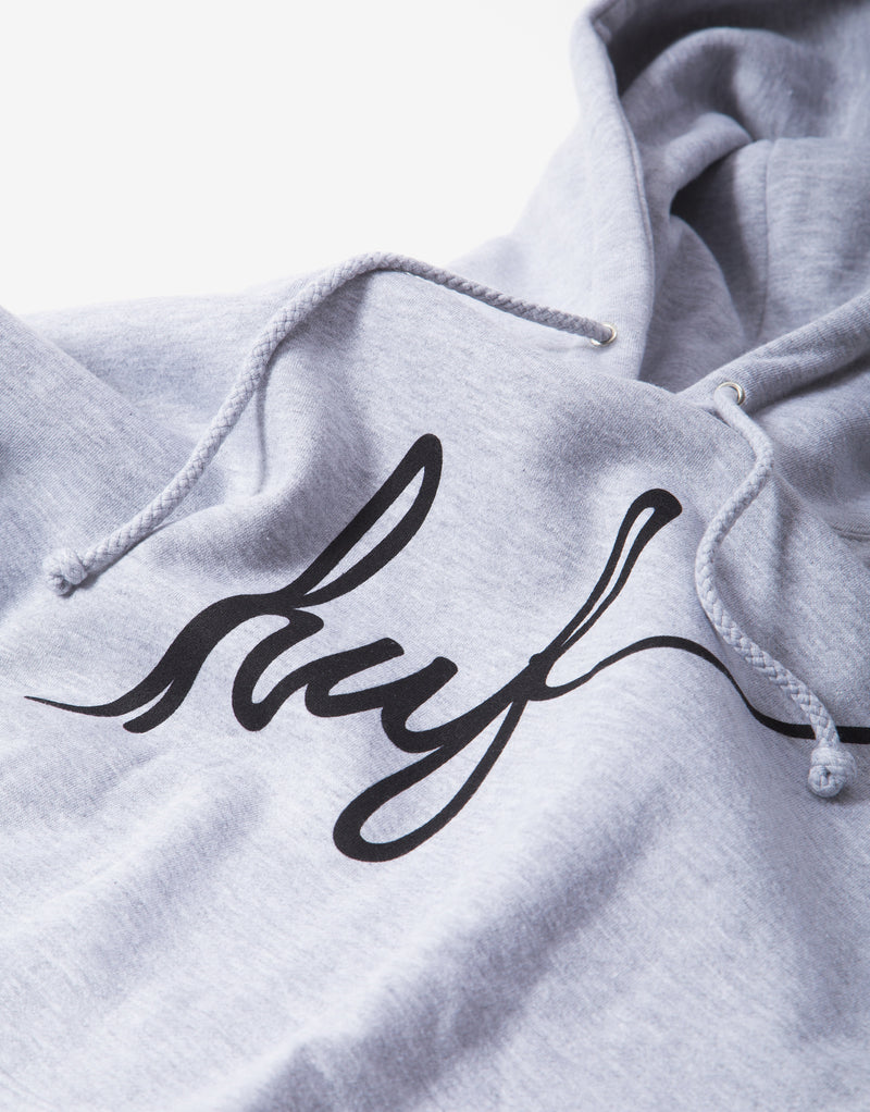 HUF Demi Script Hoody - Grey Heather
