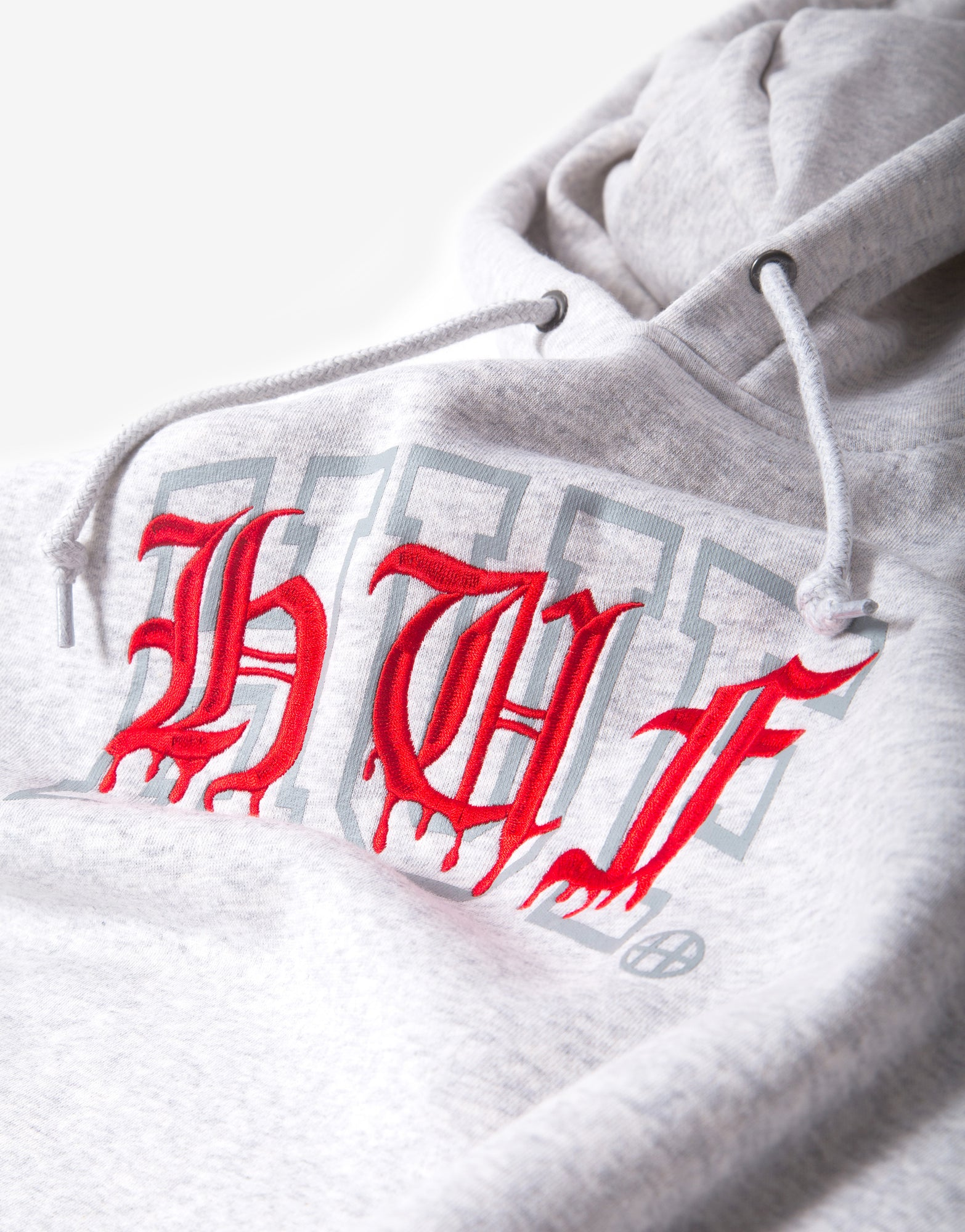 HUF Discordia Hoody - Athletic Heather