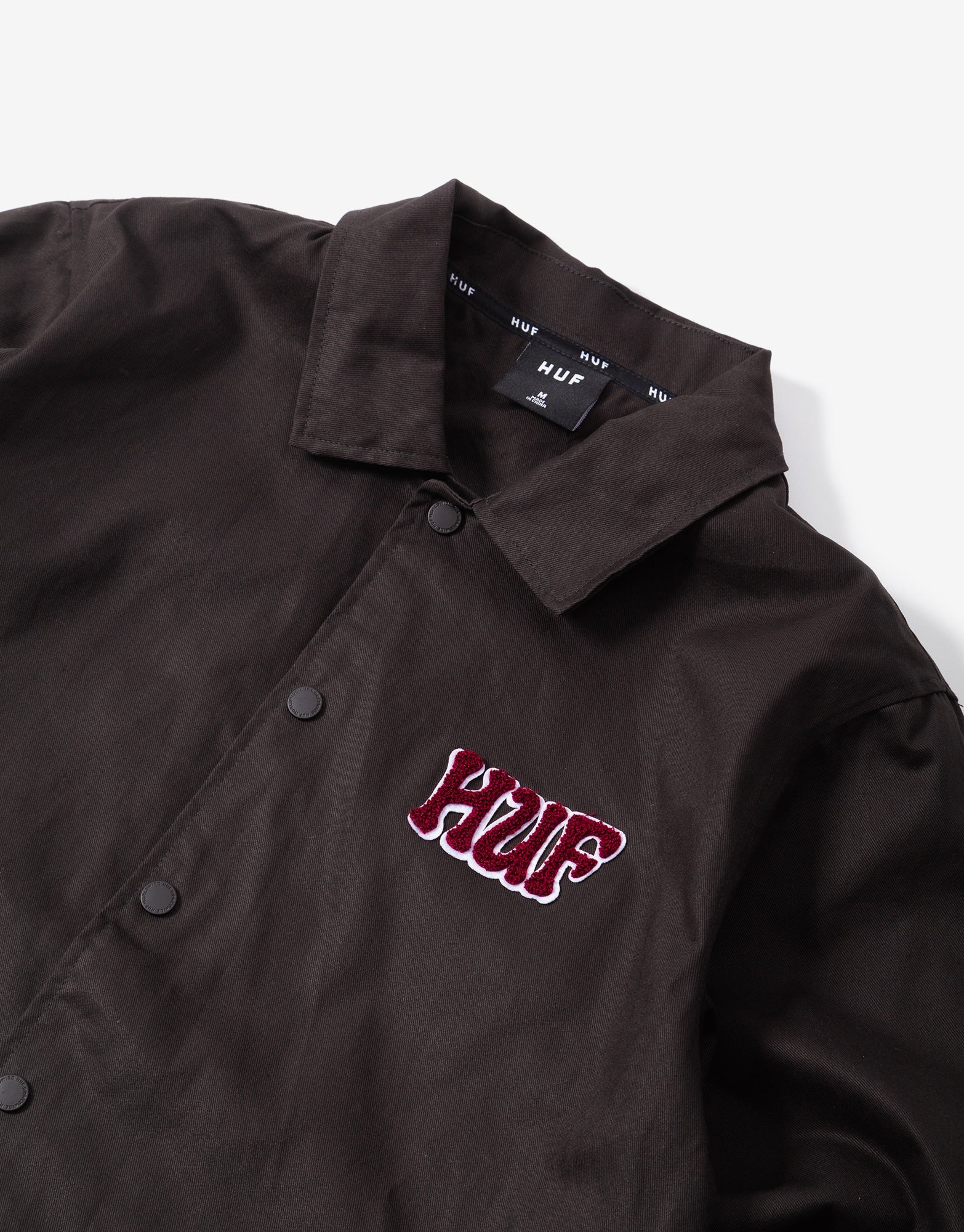 HUF Dropout Coaches Jacket - Licorice