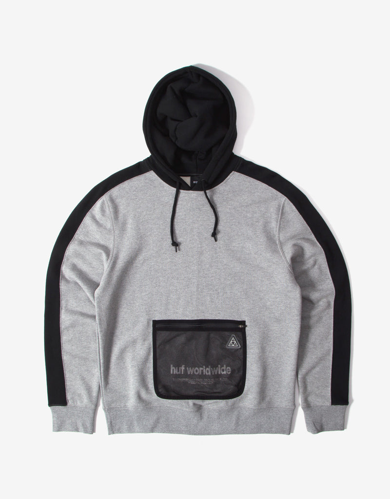 HUF Expo Pullover Hoody – Grey Heather