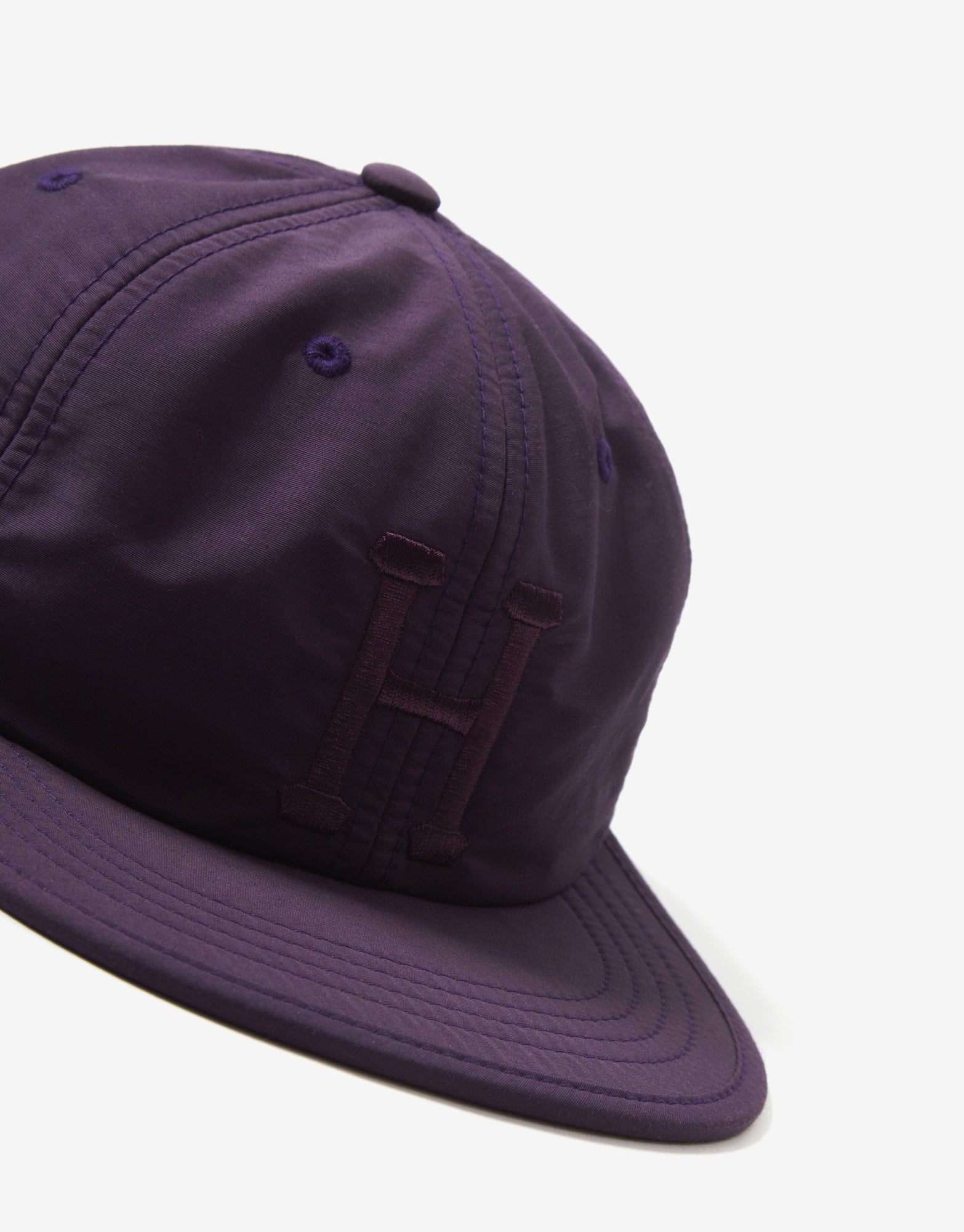 HUF Formless Classic H 6 Panel Cap - Plum