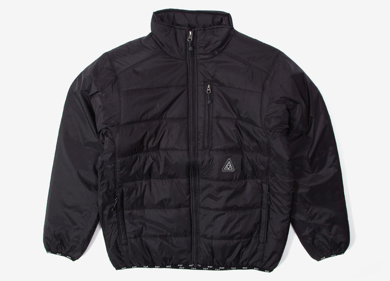 HUF Geode Puffy Jacket - Black