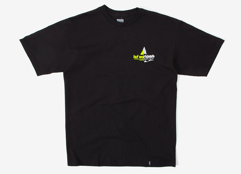 HUF Giga Melt TT T Shirt - Black