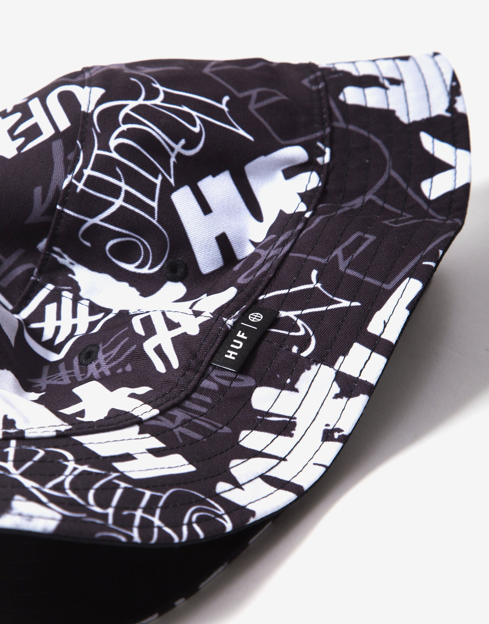HUF Haze Bucket Hat - Black