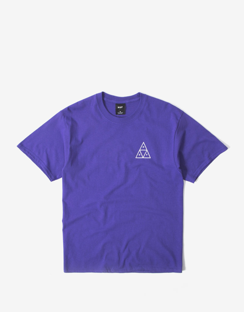 HUF Jungle Cat Triple Triangle T Shirt - Grape
