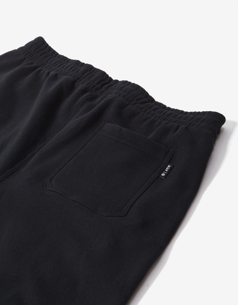 HUF Kei Fleece Pant - Black