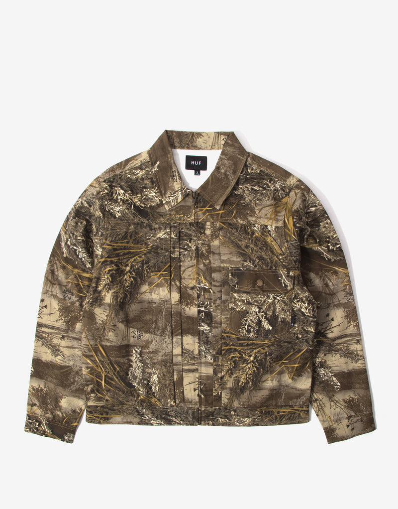 HUF Lincoln Trucker Jacket - Realtree Max