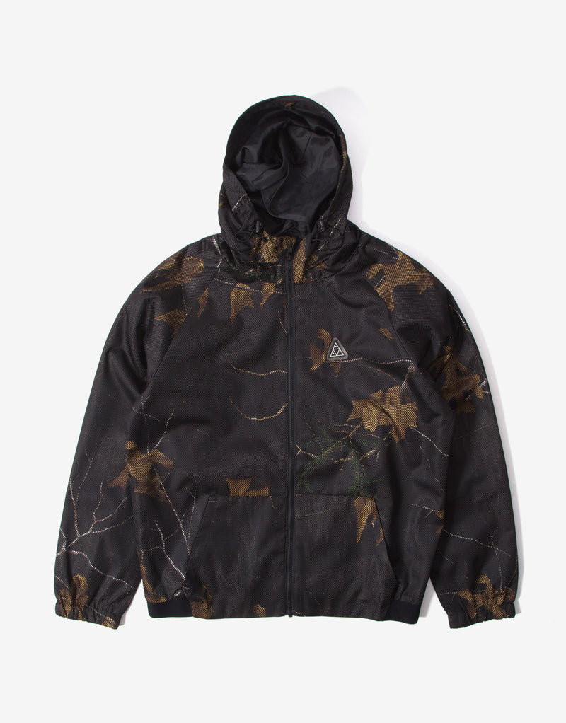HUF Network Lightweight Jacket - Realtree Black