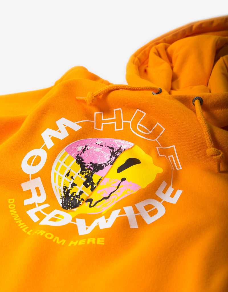 HUF Oxy Pullover Hoody - Electric Orange