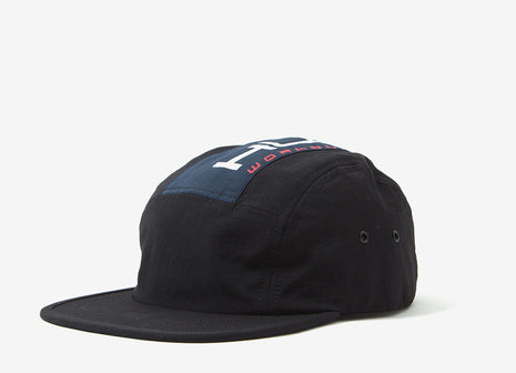 HUF Palisades Volley 5 Panel Cap -Black