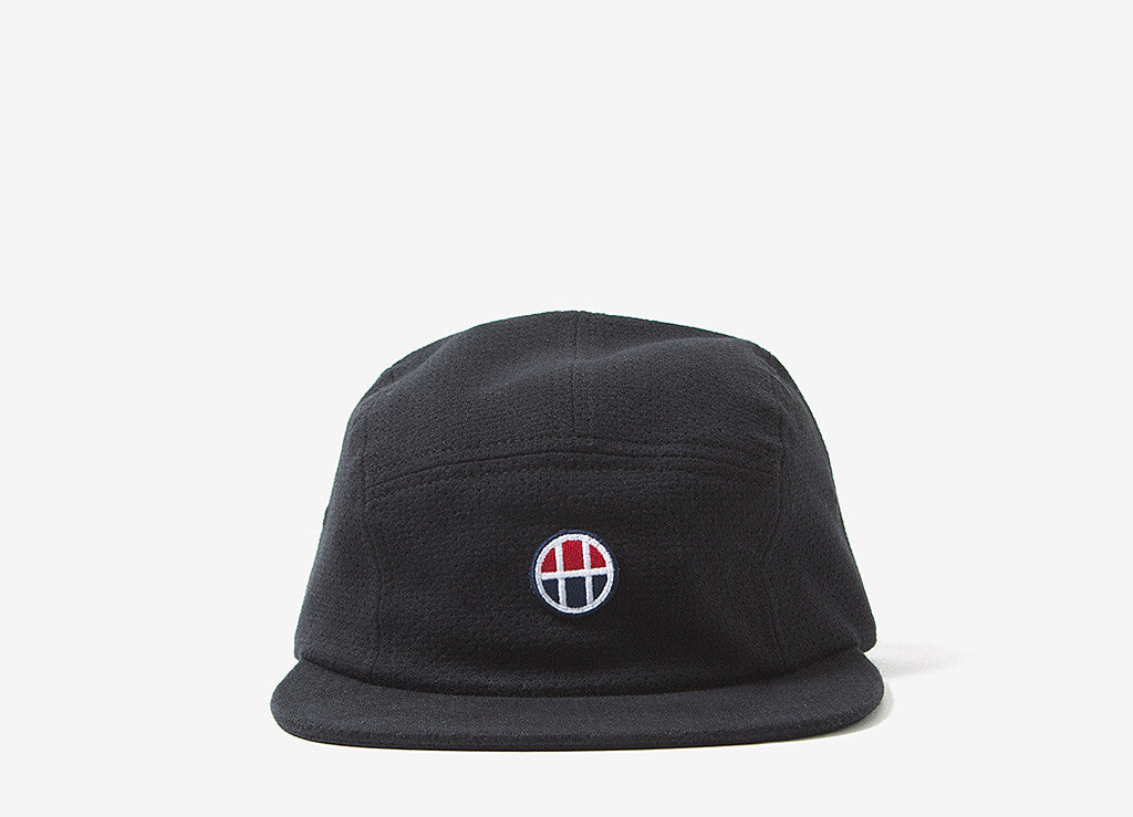 HUF Pursuit Volley 5 Panel Cap - Black