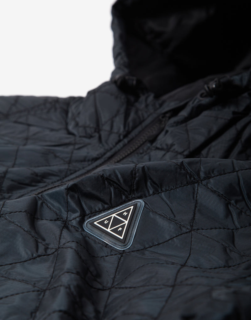 HUF Polygon Quilted Jacket - Black