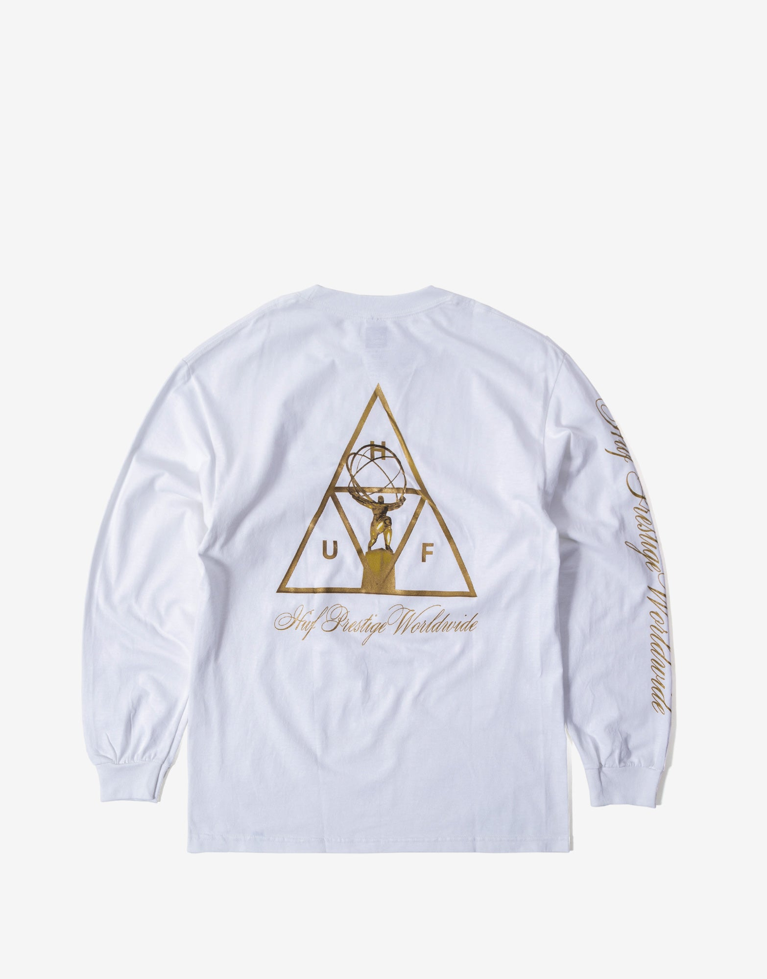 HUF Prestige TT Long Sleeve T Shirt - White