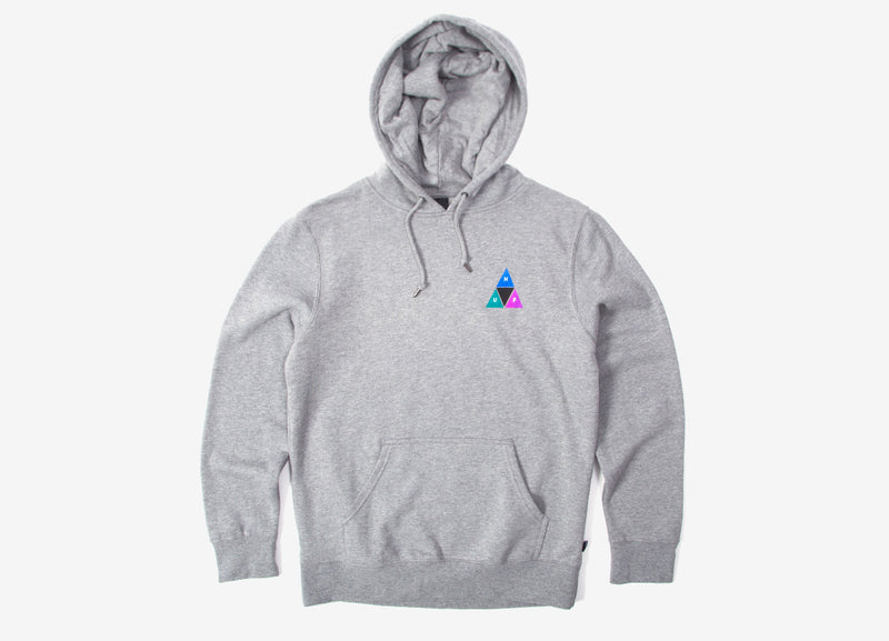 HUF Prism Pullover Hoody - Grey Heather