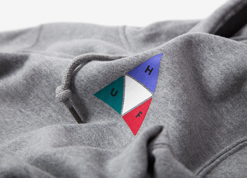 HUF Prism Triple Triangle Hoody - Grey Heather