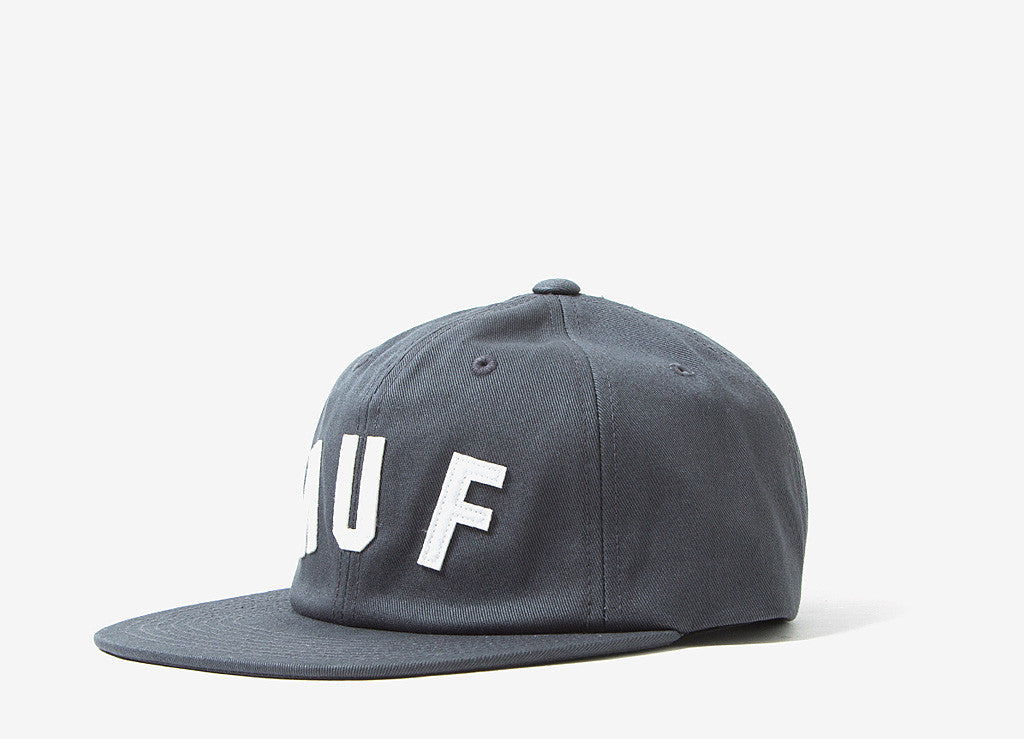 HUF Shortstop 6 Panel Cap - Dark Grey