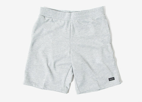 HUF Owens Fleece Shorts - Heather Grey