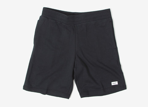 HUF Owens Fleece Shorts - Black