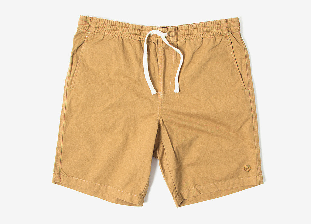 HUF Sun Daze Easy Shorts - Khaki