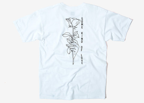 HUF Some Kind Of Love T Shirt - White