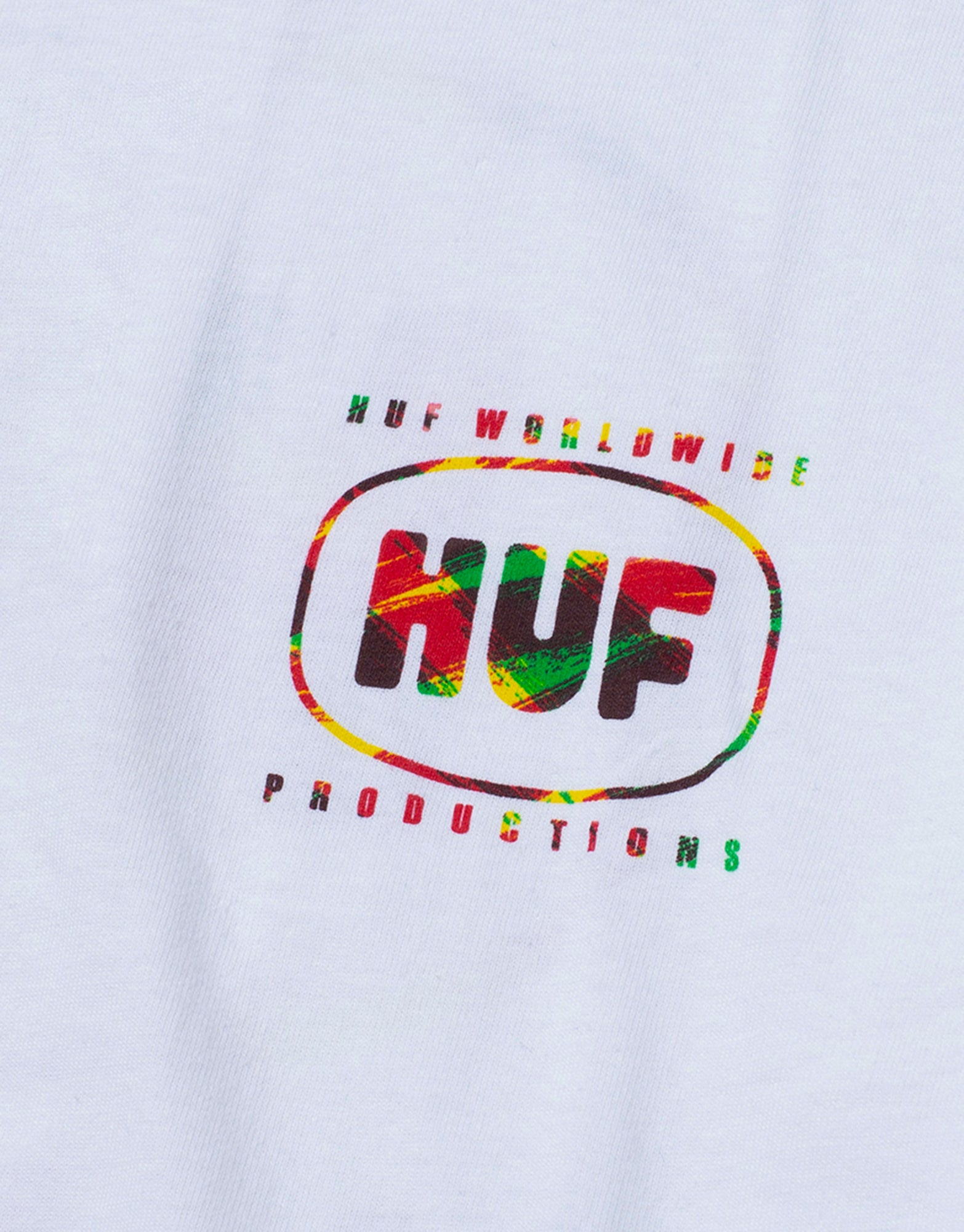 HUF Sound Label T Shirt - White