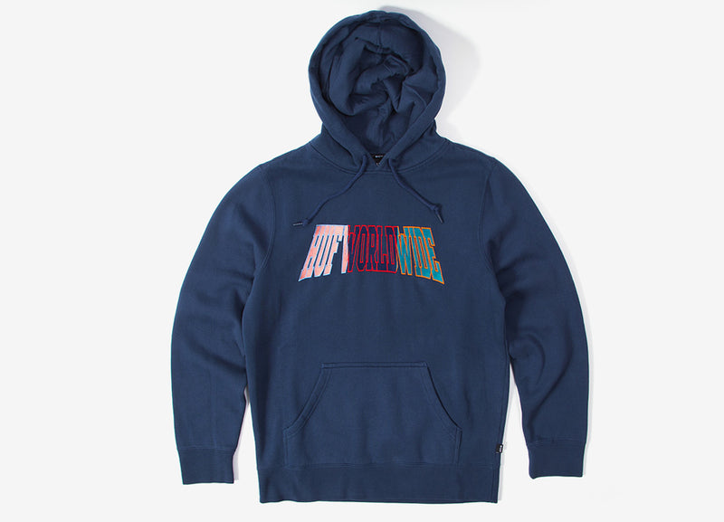 HUF Suspension Arched Hoody - Insignia Blue