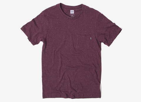 HUF Nepp Pocket T Shirt - Wine