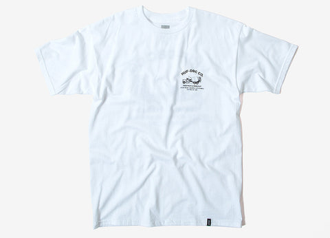 HUF Concrete Mixer T Shirt - White