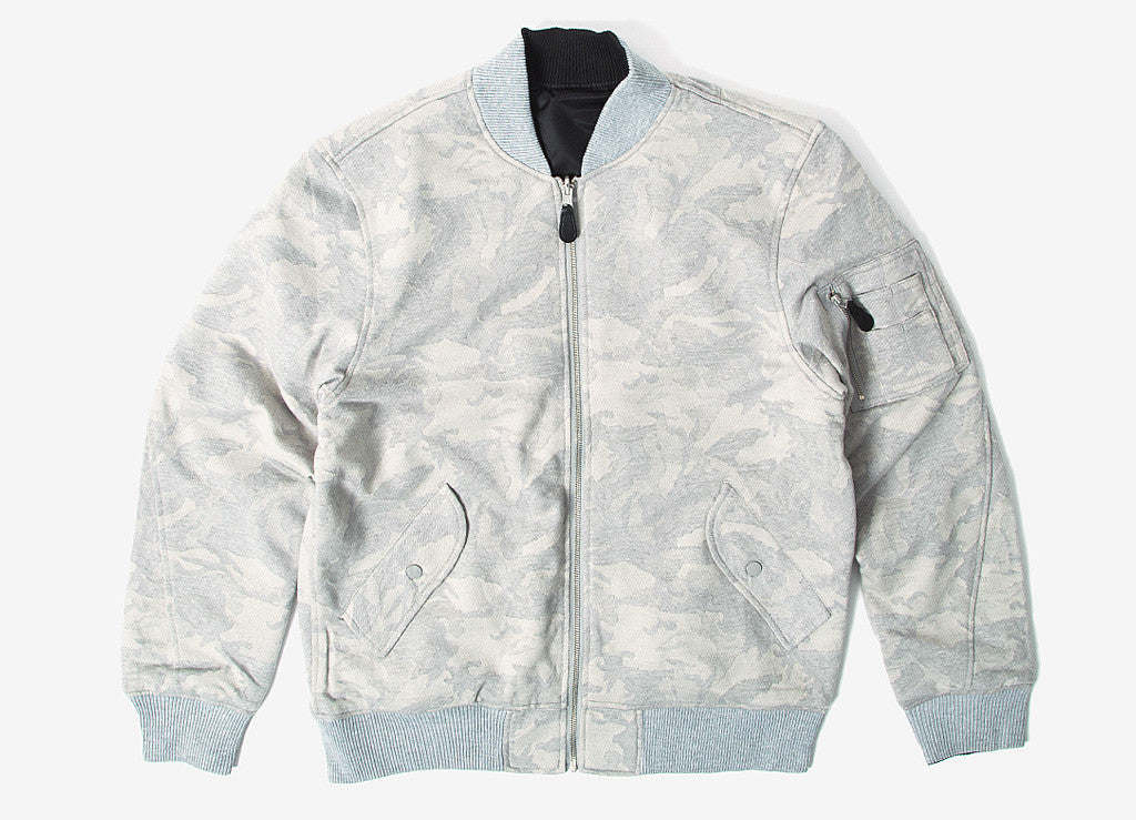HUF Tonal MA-1 Jacket - Grey