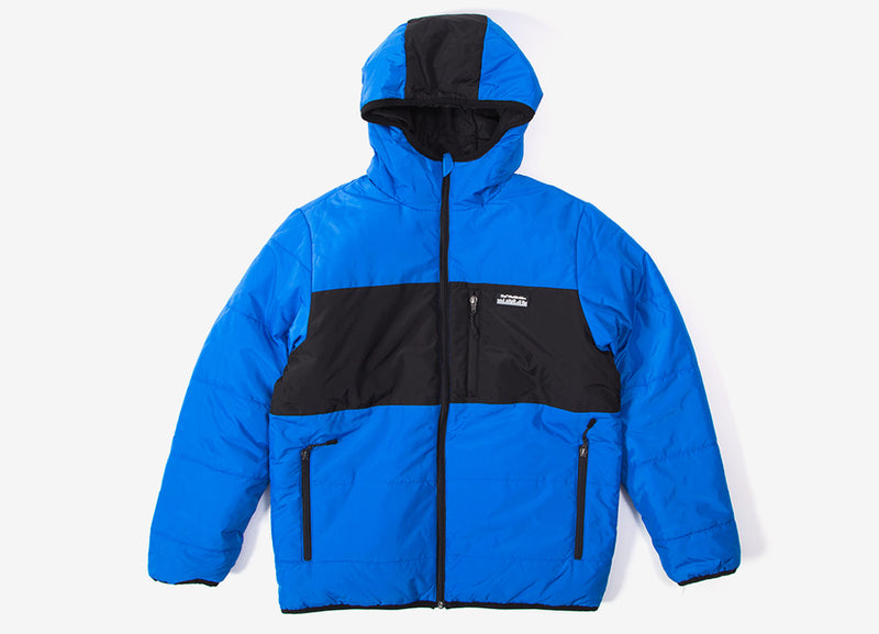 HUF Taos Reversible Puffer Jacket - Nebulas Blue