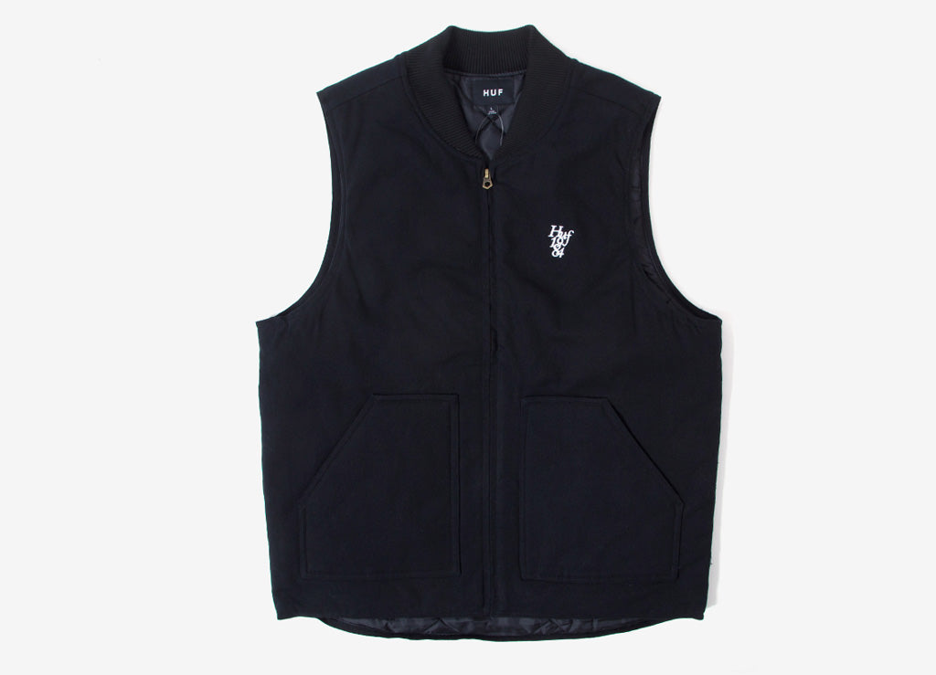 HUF Kilo Whiskey Vest - Black