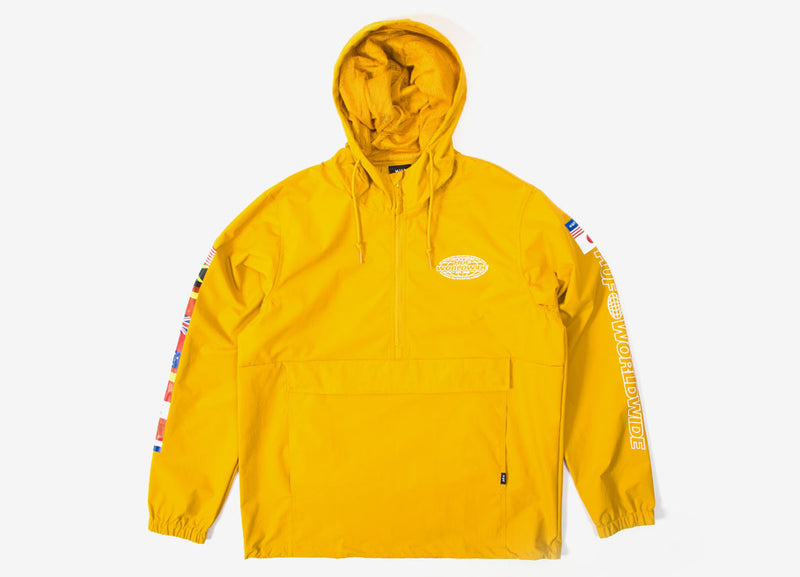 HUF World Tour Anorak - Sauterne