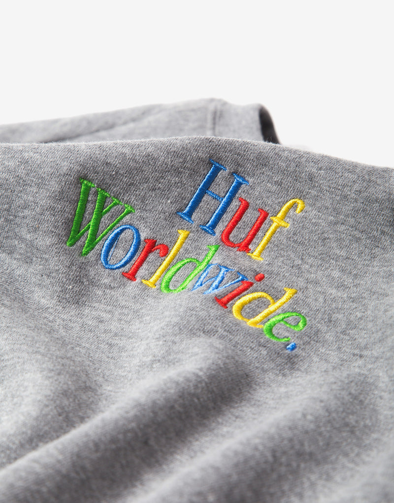 HUF Woz Crewneck Sweatshirt - Grey Heather