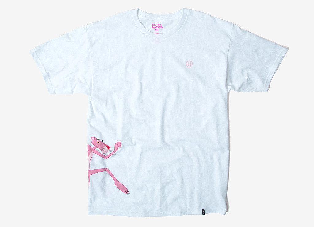 HUF x Pink Panther Run T Shirt - White