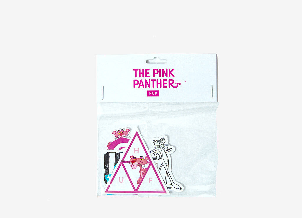 HUF x Pink Panther Sticker Pack - Assorted