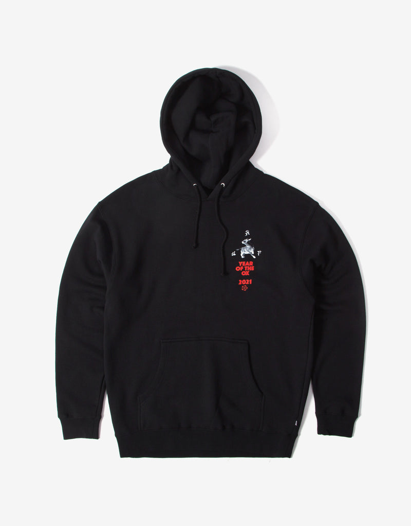 HUF Year of the Ox Pullover Hoody - Black