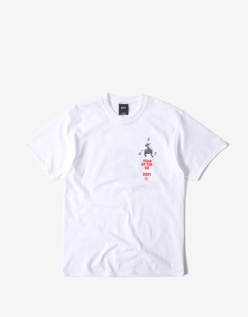HUF Year of the Ox TT T Shirt - White