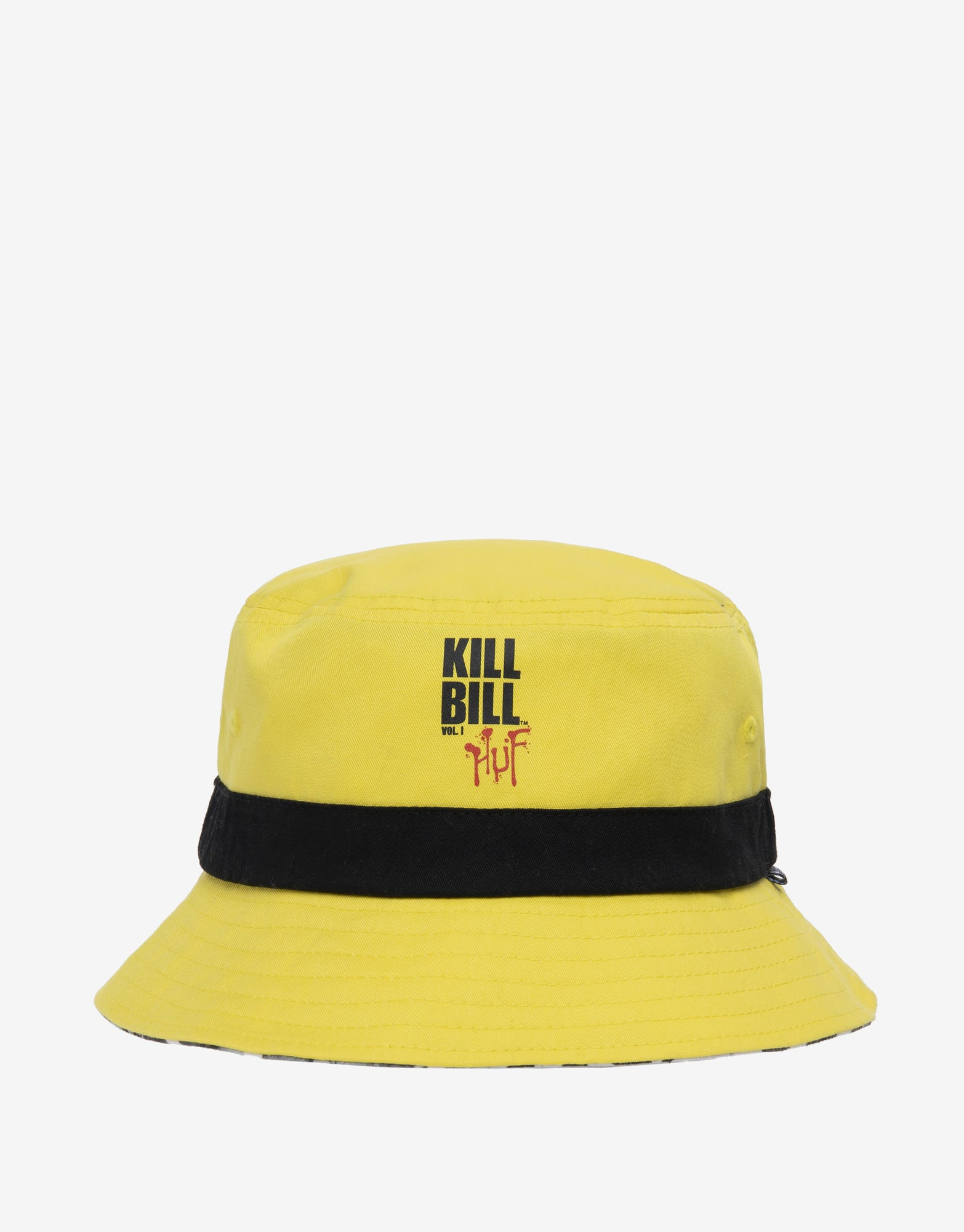 HUF x Kill Bill Reversible Bucket Hat - Yellow