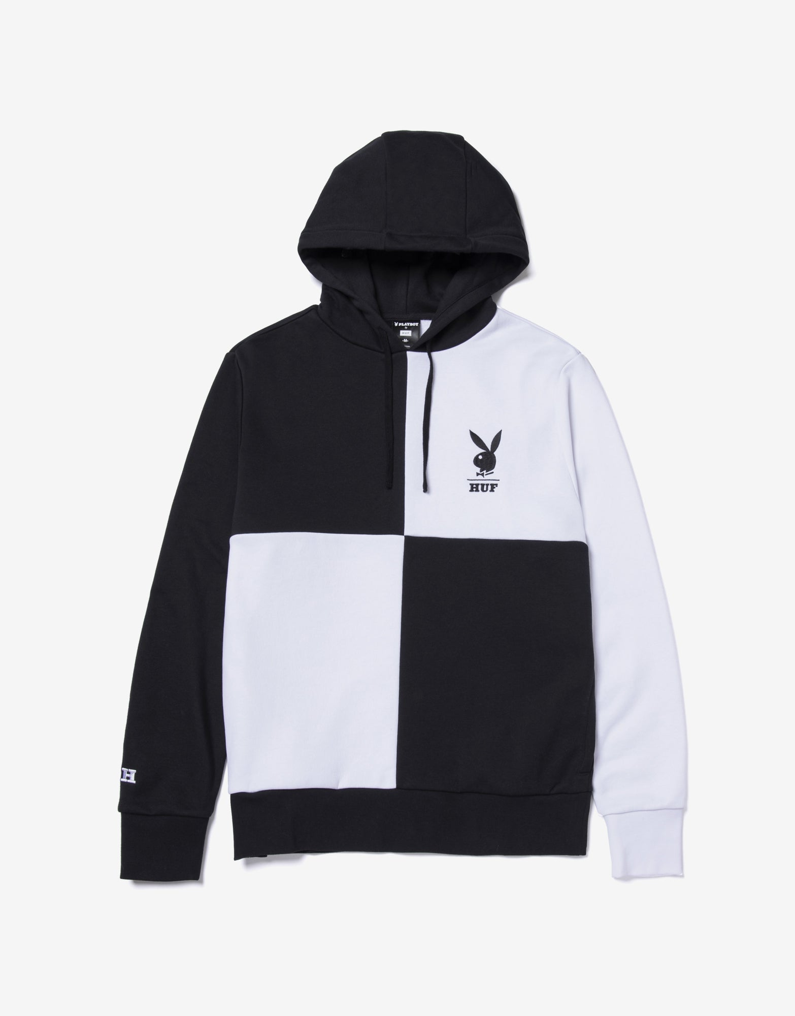 HUF x Playboy Color Block Hoody - Black