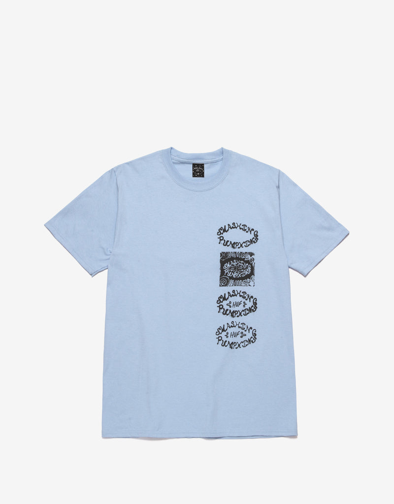 HUF x Smashing Pumpkins Lull T Shirt - Light Blue