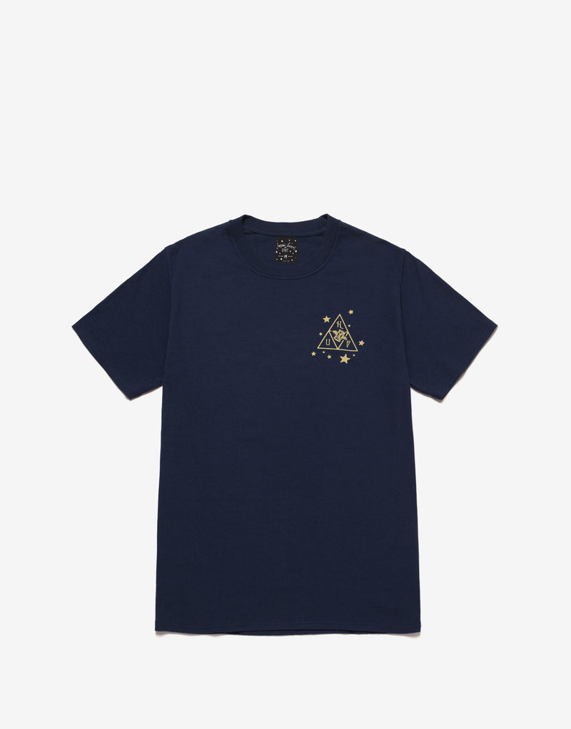 HUF x Smashing Pumpkins Starlight T Shirt - Navy