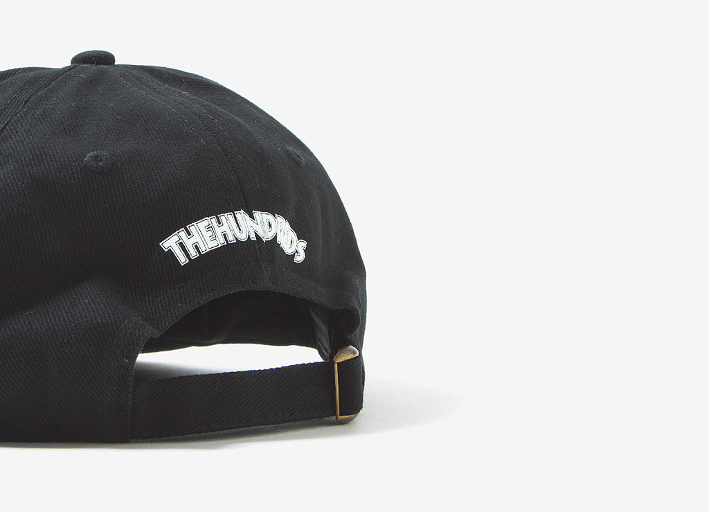 The Hundreds x Death Row Executioner Strapback Cap Black