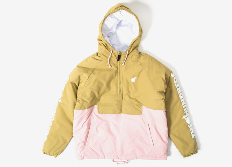 The Hundreds Dell 2 Puffer Anorak Jacket - Khaki