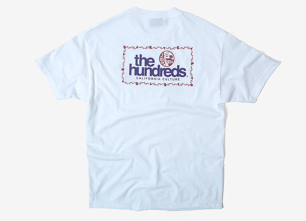 The Hundreds Palms T Shirt - White