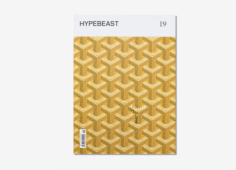 0b7914876ed8 Hypebeast Magazine Issue 19  The Temporal Issue - Gold ...