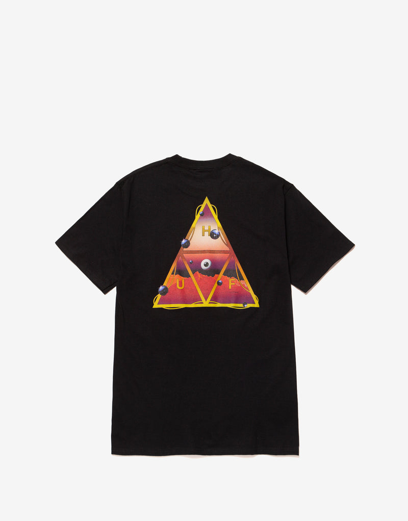 HUF Altered State TT T Shirt - Black