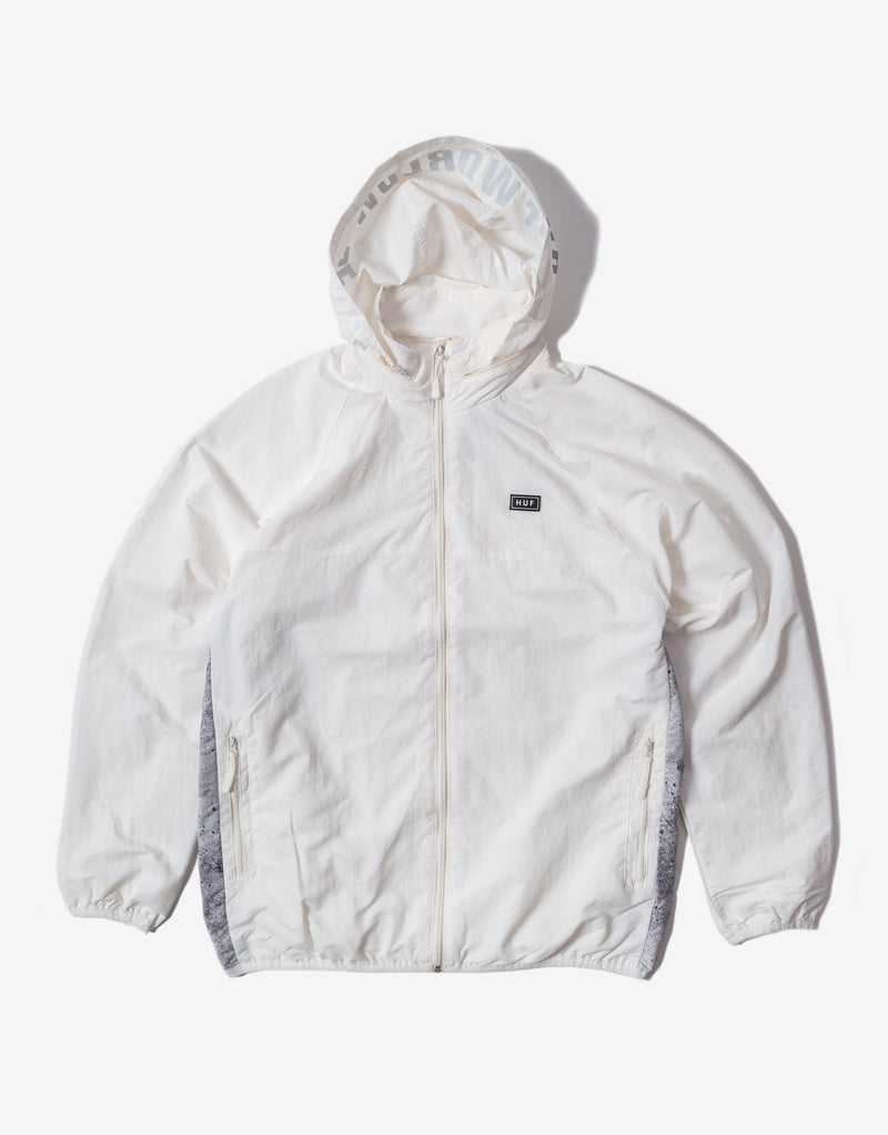 HUF Concrete Track Jacket - White