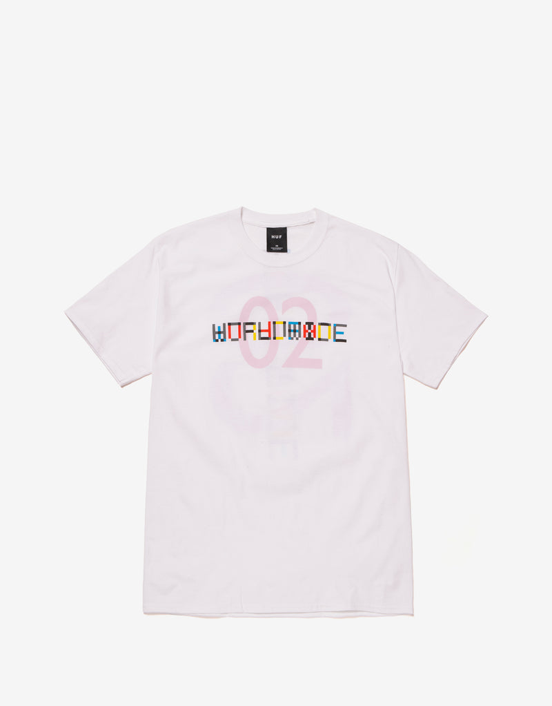 HUF Confusion T Shirt - White
